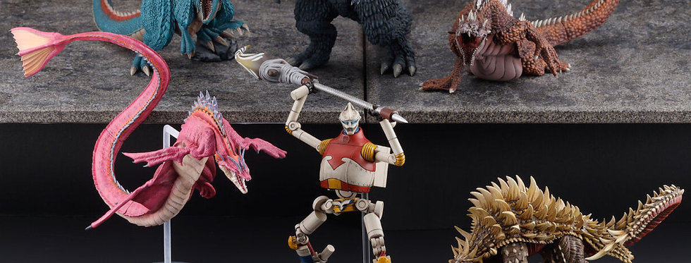 ART SPIRITS Godzilla Singular Point 6 Figure Set
