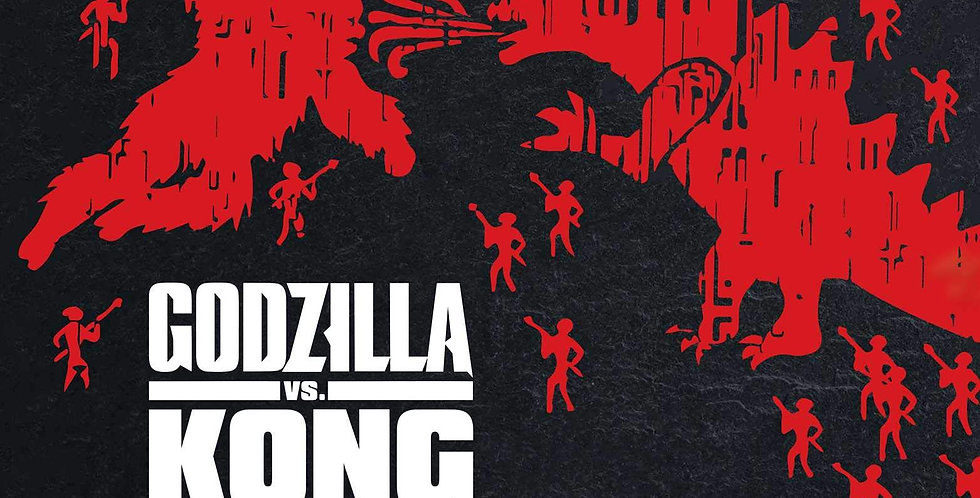 ART OF GODZILLA VS KONG HARDCOVER