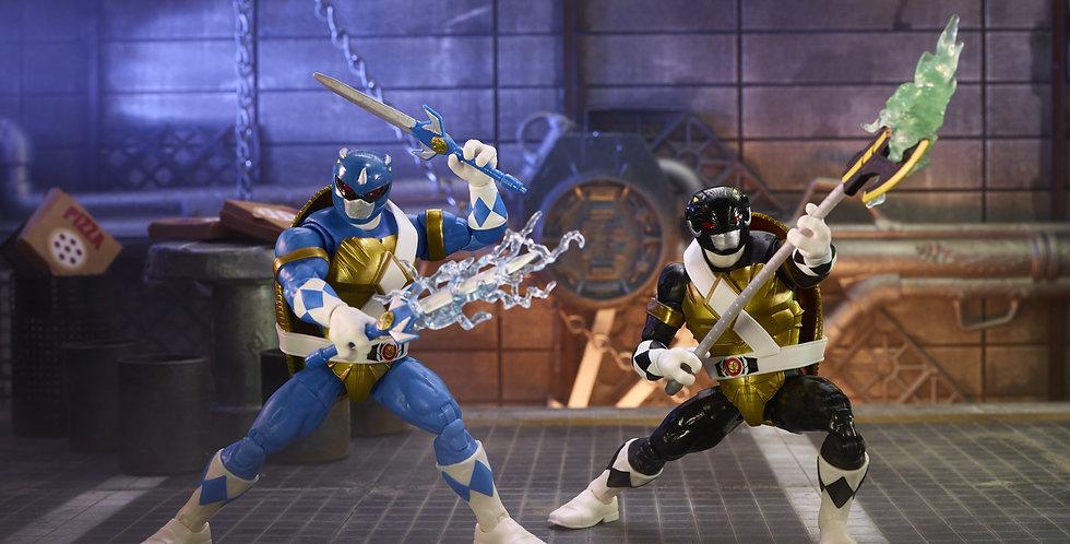 MMPR X TMNT Lightning Collection Morphed Donatello & Morphed Leonardo