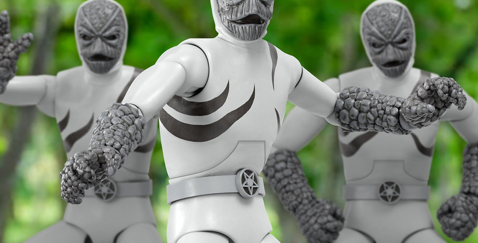 POWER RANGERS ULTIMATES PUTTY PATROLLER ACTION FIGURE