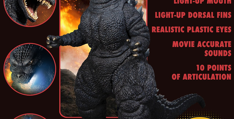 "18"" Ultimate Godzilla w/ Light-Up & Sounds"