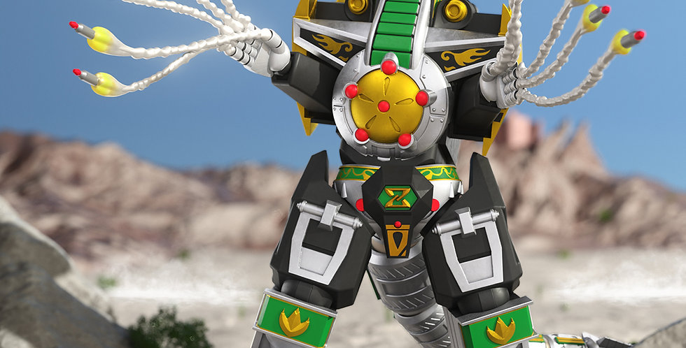 Dragonzord Mighty Morphin Power Rangers Ultimates Wave 2