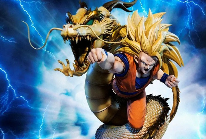 "Super Saiyan 3 Son Goku -Dragon Fist Explosion ""Dragon Ball Z"", Bandai Spirits F"