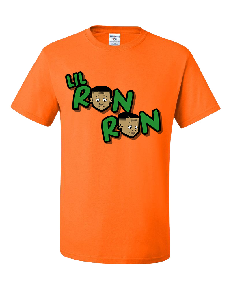 LilRonRon_Logo_Orange Tshirts.png
