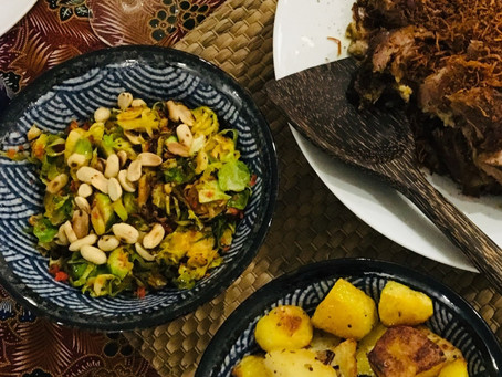 Sambal Brussel Sprouts