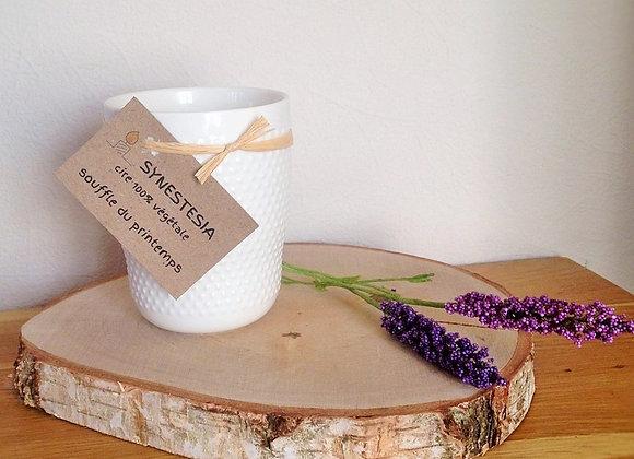 Bougie parfumée mug scandinave