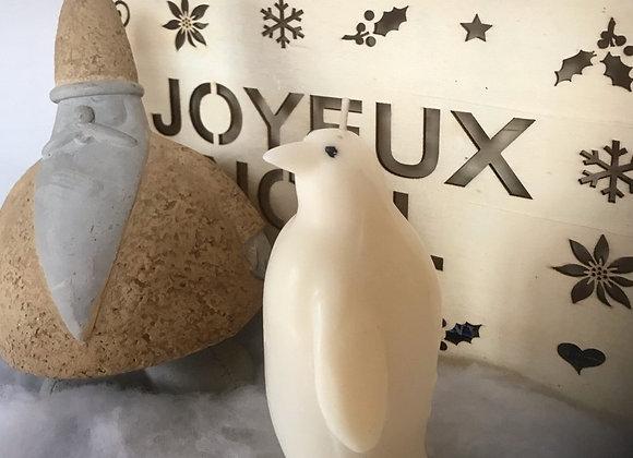 """bougie décorative """"pingouin"""""""