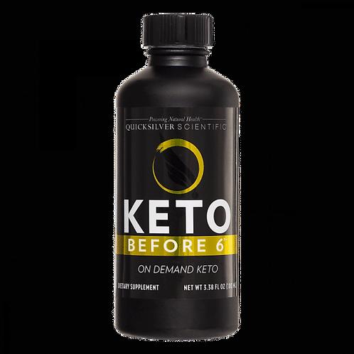 Nanoemulsified Keto before 6