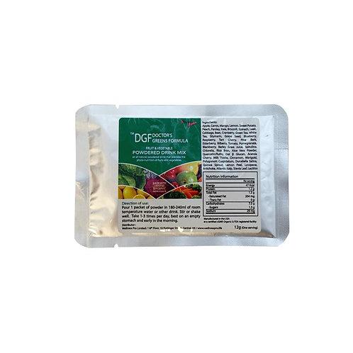 Doctor's Greens Formula- Fruit & Vegetable Powdered Drink Mix (Travel Size)