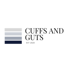 cuffs and guts clothing label