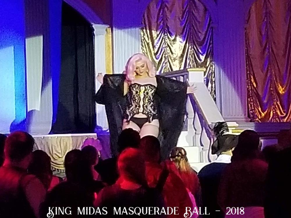 Sat 09/29 King Midas Masquerade Ball