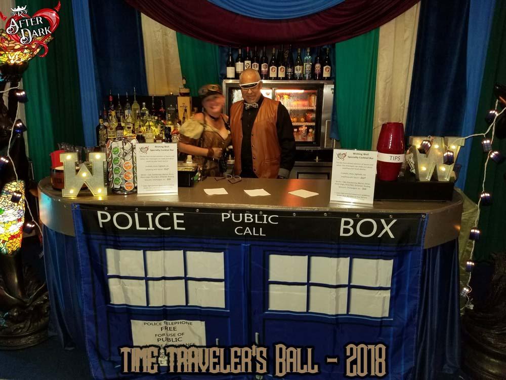 D'Ann and Joey at the TARDIS Bar