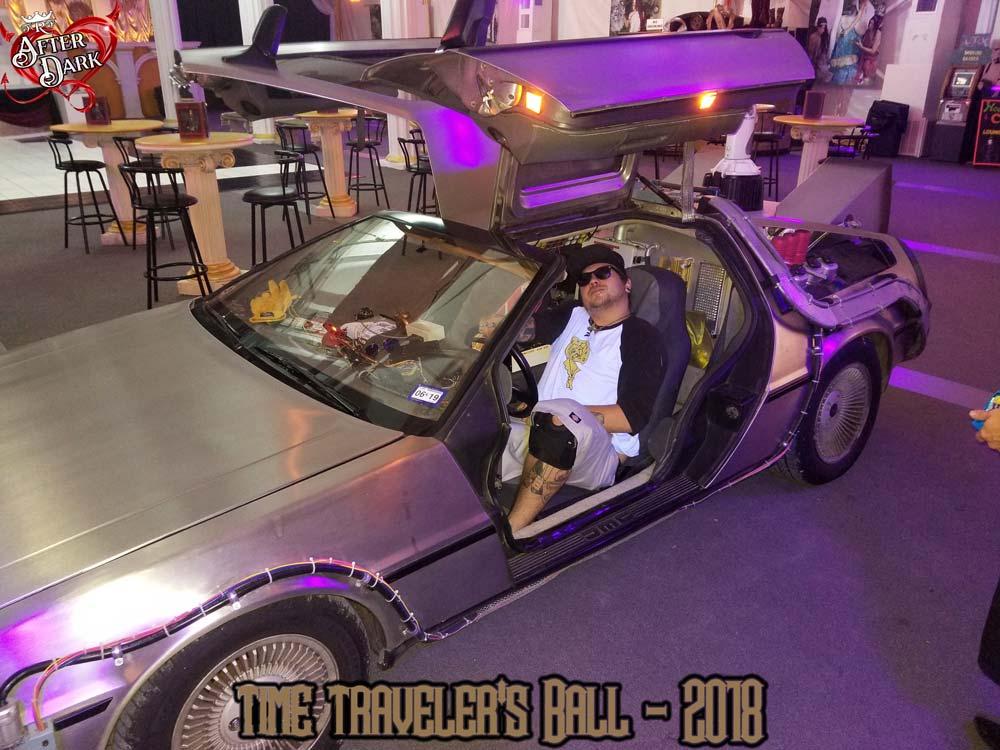 Back to the Future DeLorean