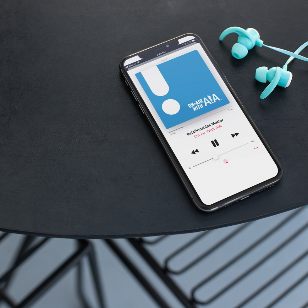 mockup-for-a-podcast-featuring-an-iphone