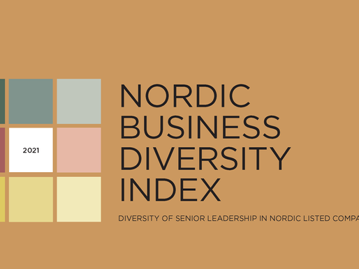 The Nordic Business Diversity Index reveals: there's still work to do in the Nordics