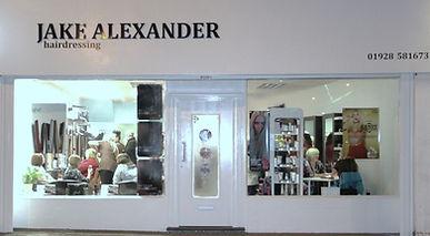 JAKE ALEXANDER shopfront
