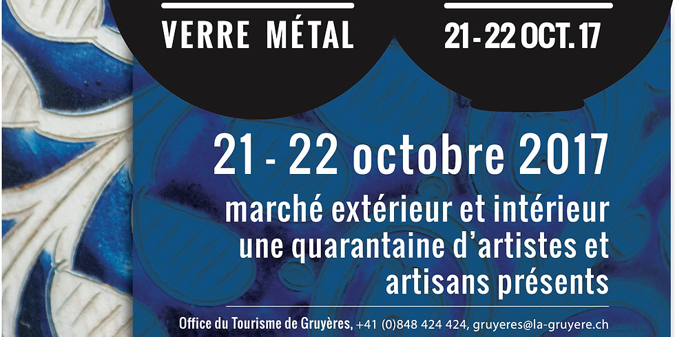 Les Arts du feu 2017 à Gruyères