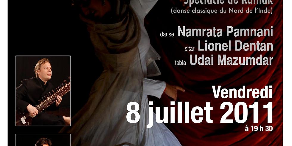 Spectacle de danse Kathak: Le voyage d'une courtisane vers l'illumination