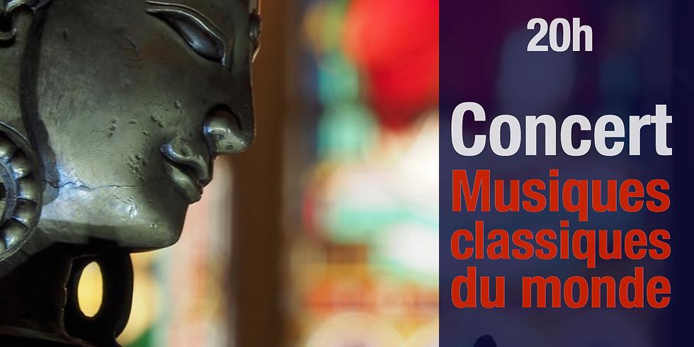 Concert: Musiques classiques du monde