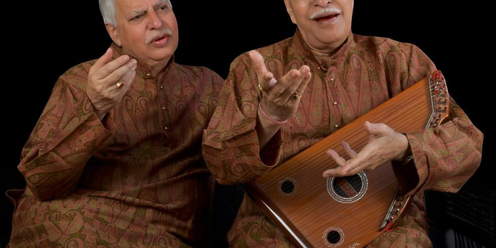 Concert des Pandits Raja et Sajan Misra