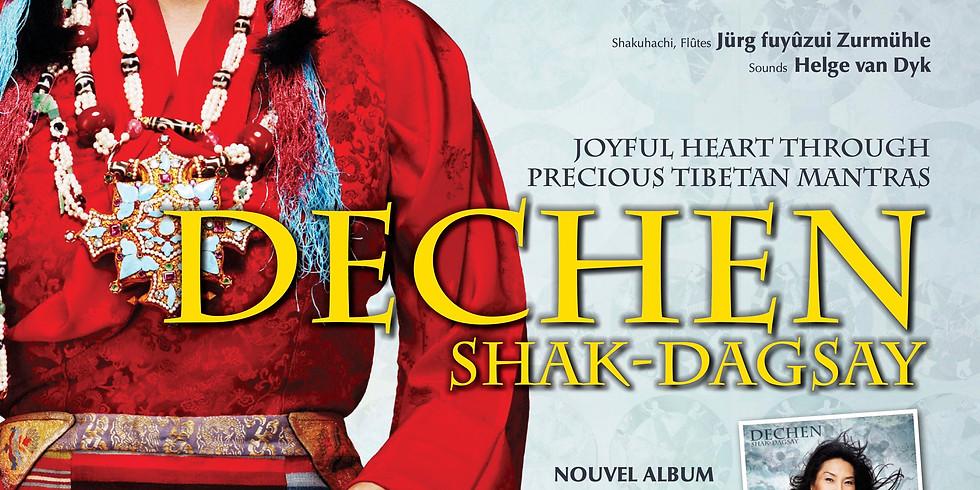 Concert de Dechen Shak-Dagsay: Joyful heart through precious Tibetan mantras