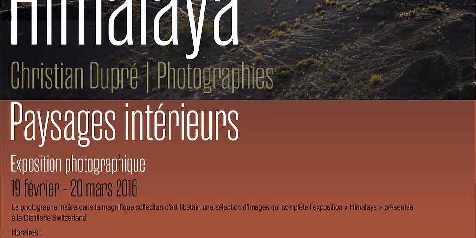 Exposition photographique: Christian Dupré - Himalaya + Conférence
