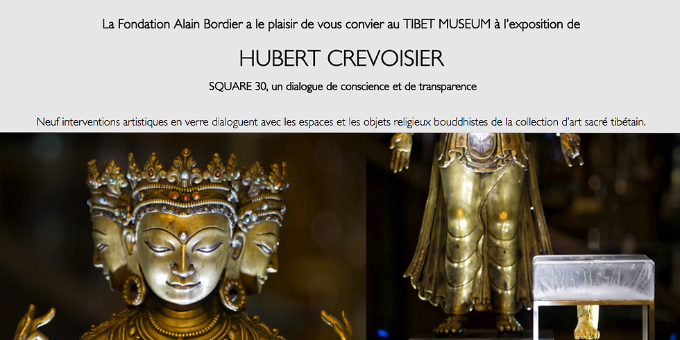 Exposition: Hubert Crevoisier - Square 30, un dialogue de conscience et de transparence