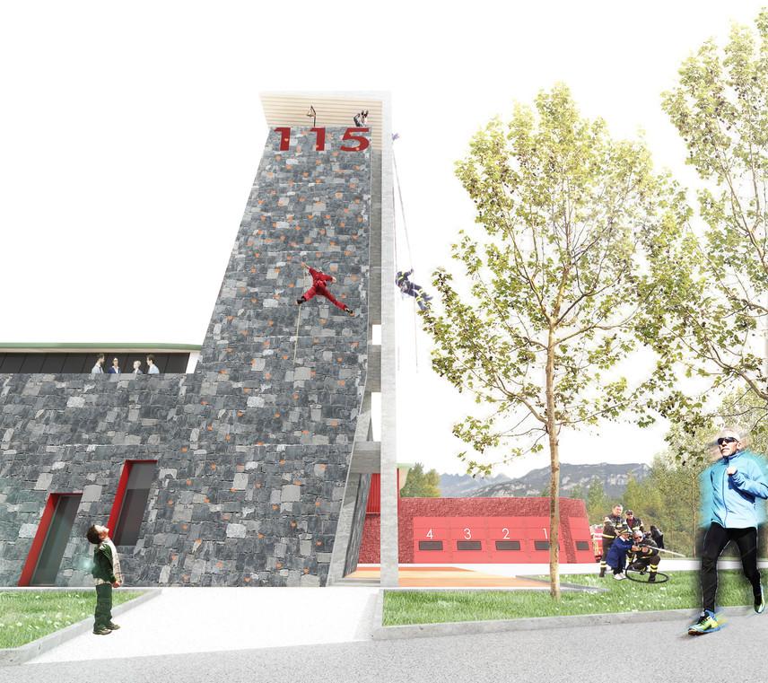 torre per esercitazioni-osservatorio ambientale