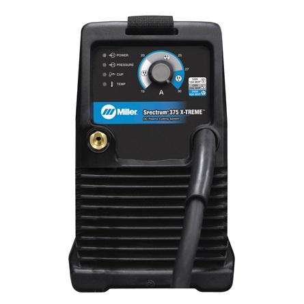 Spectrum 375 X-TREME control panel