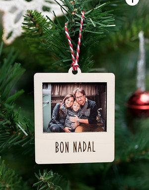 Bola de Navidad con foto