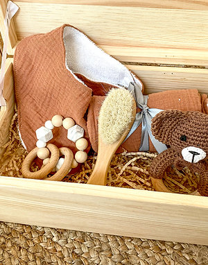 Caja con tapa regalo recién nacido