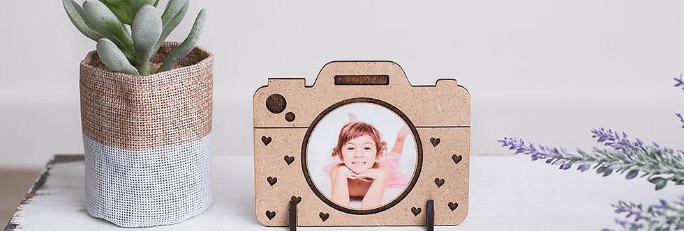 Marco cámara fotos