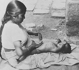História baby masáže