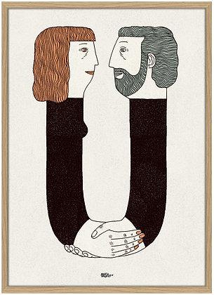 Martin Jørgensen . Love U . 42 x 30 . Digital Print
