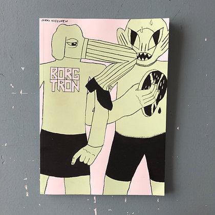 'borgtron' . jyrki nissinen . comics