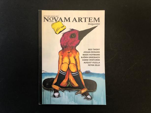 NOVAM ARTEM MAGAZINE VOL. 1 . RELEASE