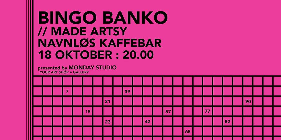 Art Bingo at Navnløs Kaffebar