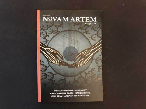 NOVAM ARTEM MAGAZINE VOL. 3 . RELEASE