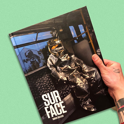 """SURFACE"" . SØREN SOLKÆR . PHOTOBOOK"