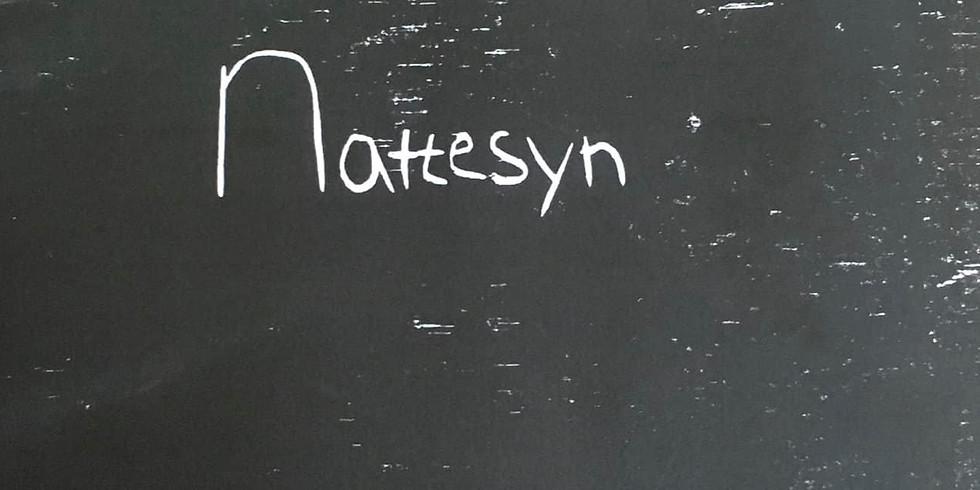 Bogreception . Nattesyn
