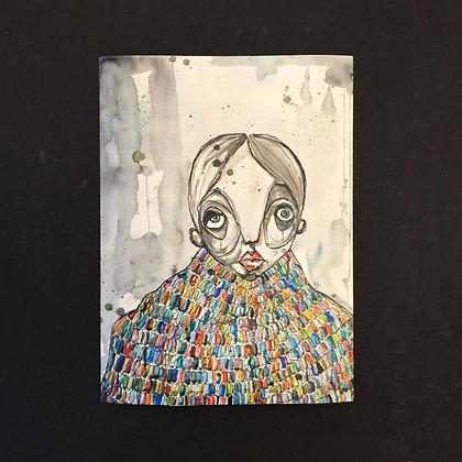 amanda zimmerlund . 'quiet noise' . 30x42 . art print