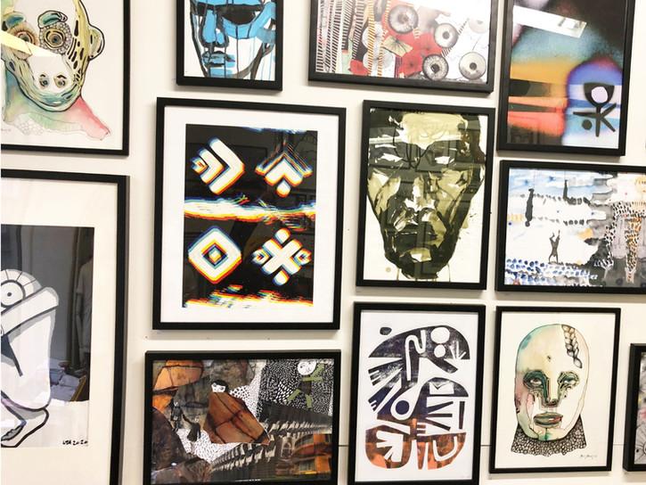 art monday studio collage art wall 2.jpg