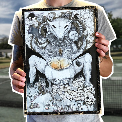 NARGIZ ART . NO TITLE . 30x42 . DRAWING