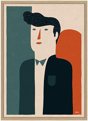 Martin Jørgensen . Suit . 42 x 30 . Digital Print