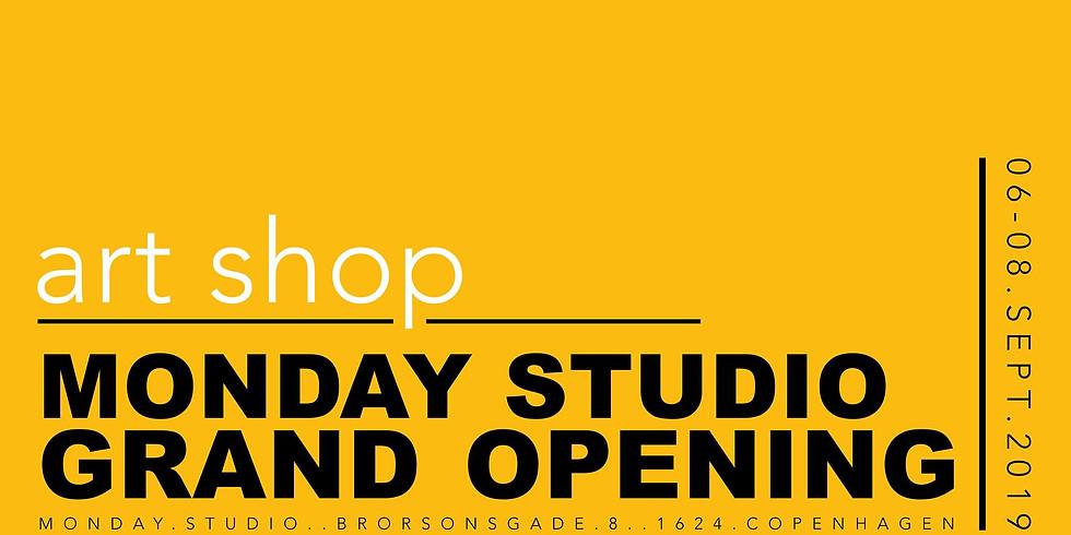 STUDIO . GRAND OPENING