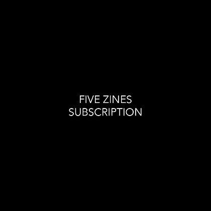 'monday yet' . 5 zine subscription