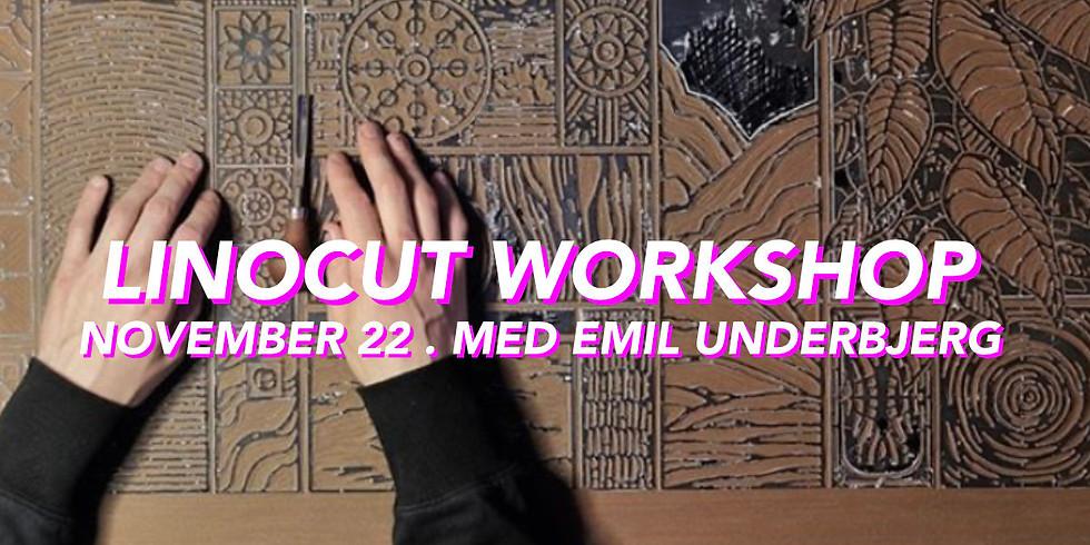 WORKSHOP . LINOCUT W/ EMIL UNDERBJERG  /11