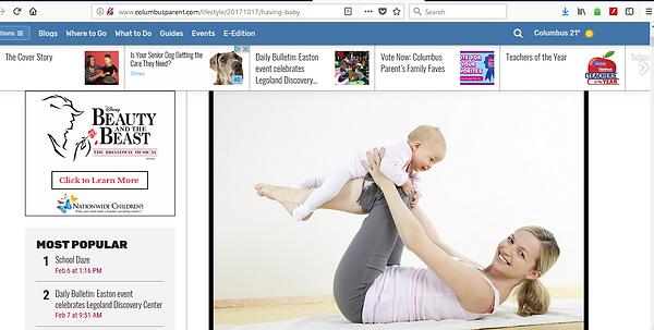 Columbus Parent Magazine Recommends Sitters Unlimited LLC