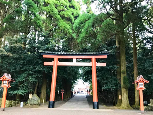 百社寺巡礼 - 鹿児島県霧島神宮
