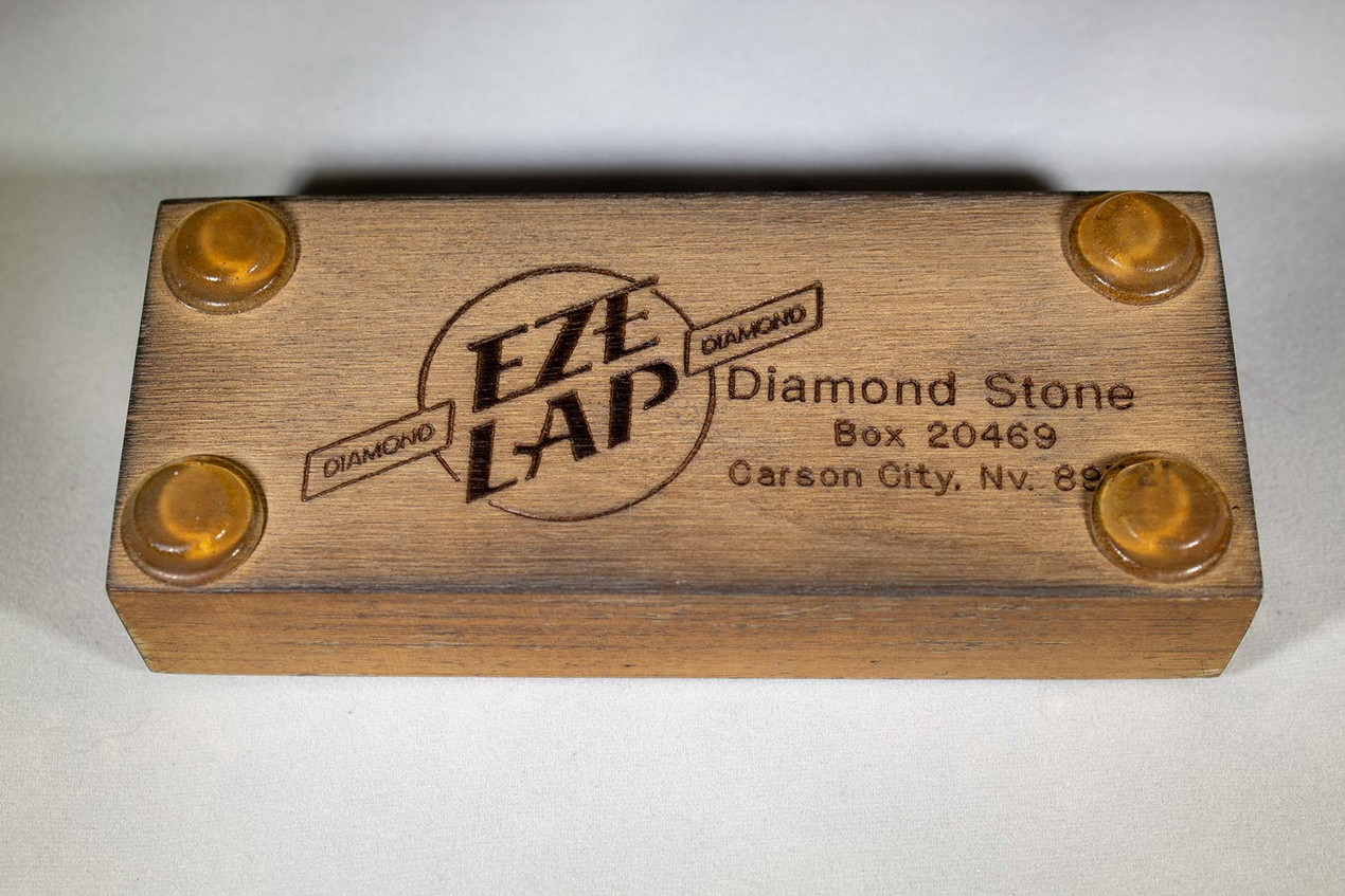Eze Lap Diamond Sharpening Stone Underneath